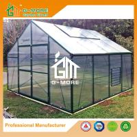 Wholesale 406x406x273cm Green Color Durable 15 Years Warranty Aluminum Growhouse from china suppliers