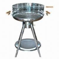 Wholesale S/S Trolley Simple Charcoal BBQ Grill for sale best from china suppliers