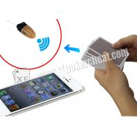 Wholesale White English Version Iphone 5S Poker Analysis Software , Poker Cheating Tools from china suppliers