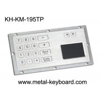 Wholesale Metallic Numeric Industrial Keyboard with Touchpad 16 Keys Dust Proof from china suppliers
