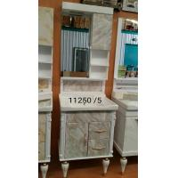 Wholesale Water Transfer Printing 15mm Pvc Bathroom Vanity With LED Sense Mirror from china suppliers