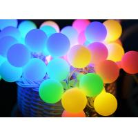 China 50LED Ball Solar Christmas String Lights, Solar Powered Patio String Lights for Home Garden Lawn Party Decorations on sale