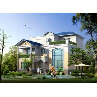 Wholesale Prefabricated House, Prefabricated Rural Villa With Light Steel Frame from china suppliers