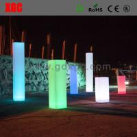 Wholesale Hot Selling Fashion Plastic Pillar LED Light For Decoration Colors from china suppliers