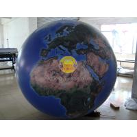 Wholesale 2m Huge Inflatable Helium Earth Balloons Globe with Total Digital Printing with 540*1080 dpi for Trade show from china suppliers