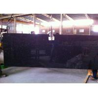Wholesale Black Galaxy Granite Island Top / Granite Kitchen Tops With Sparkles 2 CM Thick from china suppliers