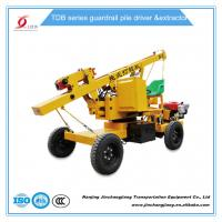 Wholesale tdb hot sale construction highway hydraulic pile driving machine for guardrail post installation from china suppliers