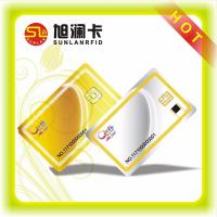 Wholesale ISO CMYK Printing RFID Blocking Card 125KHz , Contact RFID IC Cards SLE4442 Chip from china suppliers