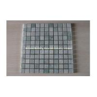 Wholesale Light Gray Green Marble Mosaic Tiles 2.5*2.5cm from china suppliers