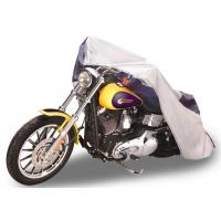 China 96 Long Waterproof Motorcycle Cover Outdoor 300D Polyester Fabric Material on sale