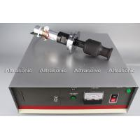 Wholesale 20Khz Ultrasonic Oscillator Transducer With Booster Flange Titanium Sonotrode from china suppliers