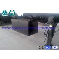 Quality Carbon Steel Square Tipper Semi Trailer Less Weight Manual Transmission for sale