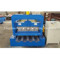 Wholesale 0.8 - 1.5mm Steel Deck Roll Forming Machine For Floor Decking Sheets from china suppliers