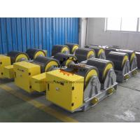 Wholesale Manual Adjustable PU Tank Turning Rolls 40T Loading Capaicty CE Standard from china suppliers