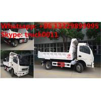 Wholesale 2017s new cheapest price dongfeng 4*2 LHD 3-5tons dump tipper truck for sale, factory sale dongfeng LHD tipper truck from china suppliers