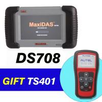 Wholesale Republish Launch Master X431 Autel MaxiDAS DS708 Get MaxiTPMS TS401 As Gift from china suppliers