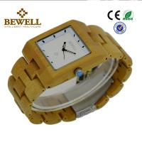 Wholesale Bamboo Men / Women Wooden Wrist Watch With Japanese 2035 Movement , OEM ODM Service from china suppliers