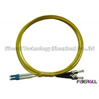 Wholesale Data Center Singlemode Fiber Optic Jumper LC To ST Fiber Patch Cable Low Insertion Loss from china suppliers