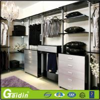 Wholesale aluminum profile modern design bedroom furniture save space cloth modular wardrobe from china suppliers
