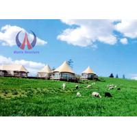 Wholesale Unique Design Luxury Tent Hotel With PVDF Fabric Sail Membrane Roofing Metal Frame from china suppliers