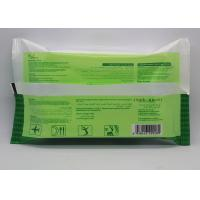 Nonwoven Alcohol Free Antibacterial Wet Wipes For Face , Eco-friendly