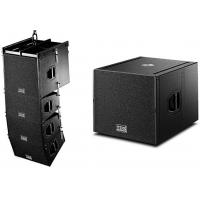 Wholesale Wooden Cabinet Professional Theater Subwoofer Smooth Sound Flying Line Array from china suppliers