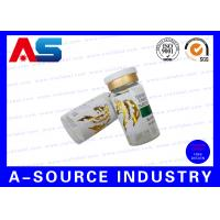 Wholesale Pharmaceutical Labels 10mL Glossy Gold Foil Embossing Printing Of Sterile Glass Vials from china suppliers