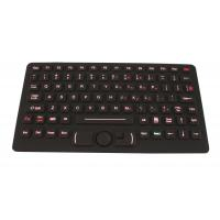Wholesale USB Desktop Silicone Military Keyboard With FSR Mouse With Red Backlit from china suppliers