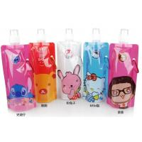Wholesale food pouch with spout ,  custom samll plastic food stand up spout from china suppliers