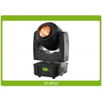 Buy cheap 60W Beam Zoom Moving Head With Prism Affordable Lighting Equipment from wholesalers
