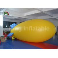 China Outdoor Airship PVC 5m Helium Inflatable Advertising Balloons For Commercial on sale