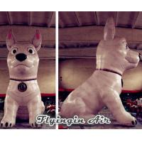 Wholesale Standing Inflatable Dog Model with Blower for Outdoor Display from china suppliers