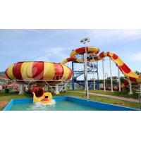 Wholesale Fiberglass Aqua Park Water Slides with bowl ride HS code 95069900 from china suppliers
