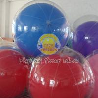 Wholesale Transparent Inflatable Advertising Inflatable Helium Balloon for Entertainment events from china suppliers