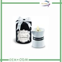 Wholesale ODM Natural Decorative Round Candle Box Packaging With Tray from china suppliers