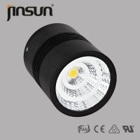 Wholesale 10-50w practical Matte black housing Led Surface Mounted Downlight CITIZEN/BRIDGELUX light source cutout 125mm from china suppliers