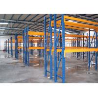 Quality Adjustable Industrial Steel Storage Racks , Double Deep Pallet Racking for sale