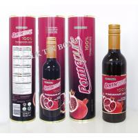 Wholesale 375ml Cmyk  Round Wine Tin  Box Spirit bottle Packaging For Holiday from china suppliers