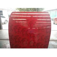 PE Red Prepainted Galvalume Steel Coil High Gloss Free Sample Available