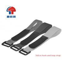 Buy cheap Velcro hook and loop strap with buckle from wholesalers