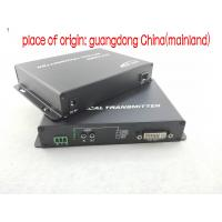 Wholesale Long Distances Dvi To Fiber Converter Transceiver Receiver Over One Fiber Optic Cable Single Mode / Multimode from china suppliers