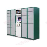 Wholesale Self service touchscreen Post Parcel Delivery Electronic Locker with barcode scanner and receipt printer from china suppliers