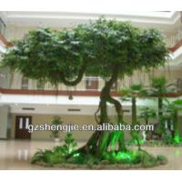 Buy cheap 2014new design mountain/park beauty spot landsaping artificial banyan tree from wholesalers