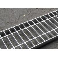 Wholesale 30 X 3 Concrete Steel Grating Drain Cover Hot Dip Galvanized Surface from china suppliers