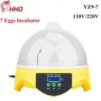 Wholesale Poultry egg incubator mini 7 chicken quail eggs with CE Approved for sale YZ9-7 from china suppliers