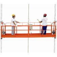 Quality Portable scaffolding suspended working platform 220v ZLP630 with High Technical for sale