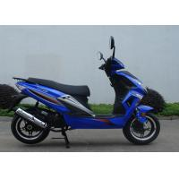 Quality Air Cooled  Adult Motor Scooter 50cc 1 Cylinder 2 Stroke 12 Degree Climbing Capacity for sale