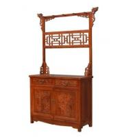 Buy cheap shoe store new Chinese style screen partition classical solid wood furniture from wholesalers