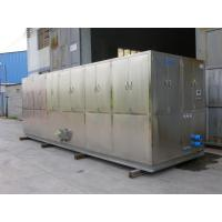 Wholesale R404a Refrigerant 10 Ton Ice Cube Machine For Restaurant , Supermarket from china suppliers