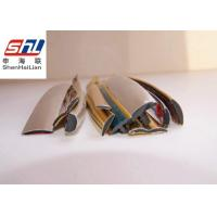 Wholesale Golden PVC Extrusion Profiles OEM For Visual Sound Equipments / Car from china suppliers